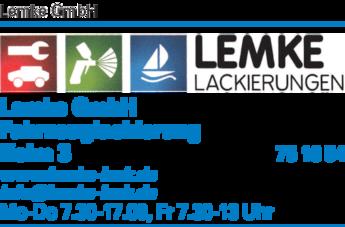 Anzeige Lemke GmbH Autolackierung