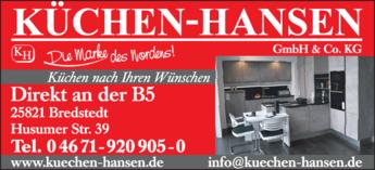 Anzeige Küchen-Hansen