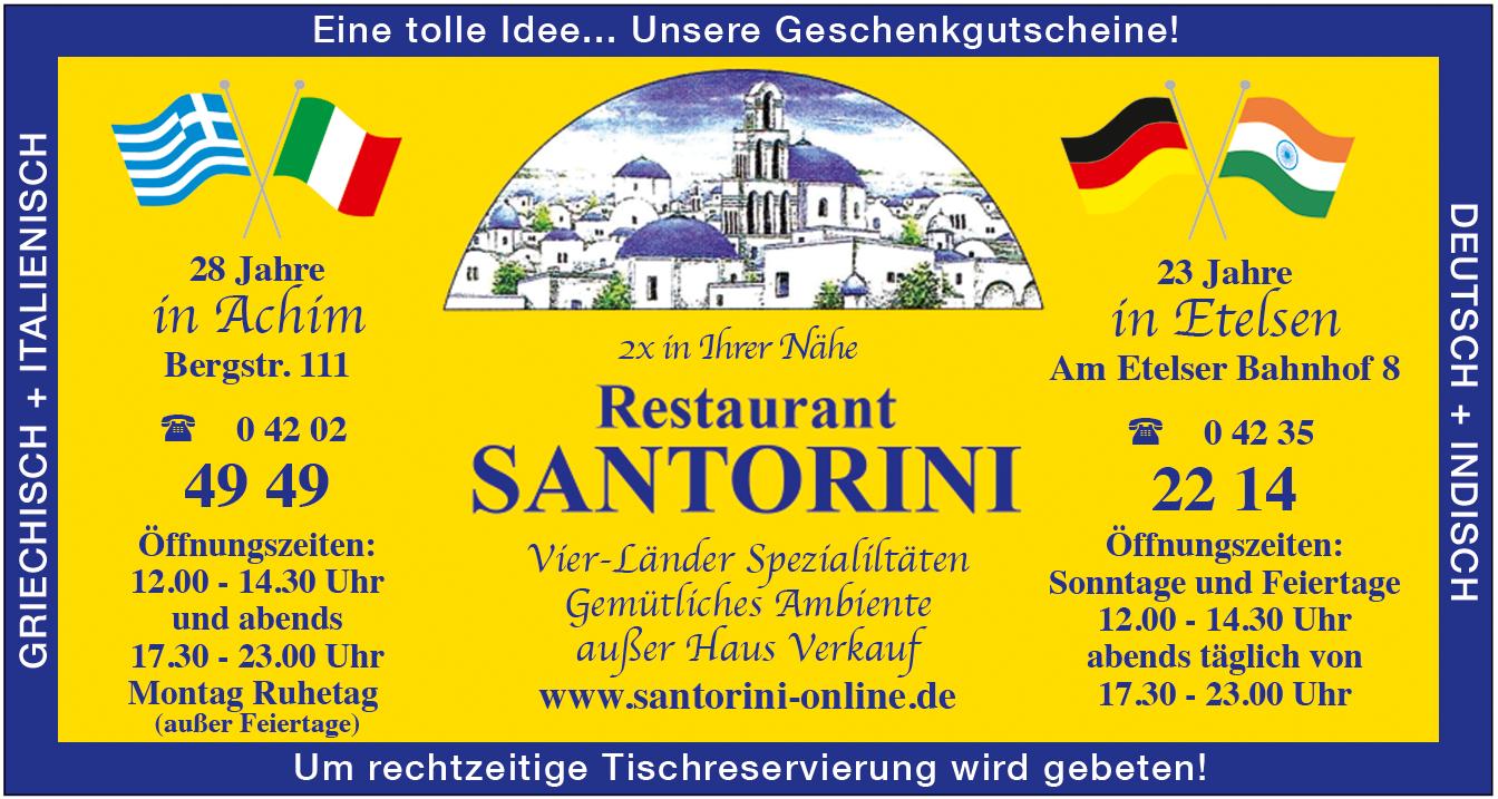 Anzeige Santorini Achimer 4 Länder