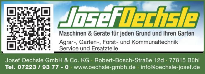Anzeige Oechsle GmbH & Co KG