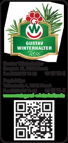 Anzeige Gustav Winterhalter GmbH