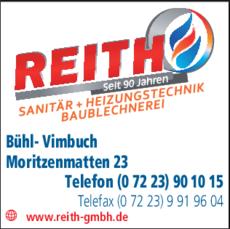 Anzeige Reith GmbH