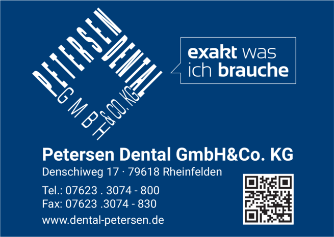Anzeige Petersen Dental GmbH & Co. KG