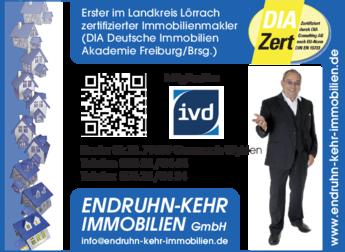 Anzeige Endruhn-Kehr Immobilien GmbH