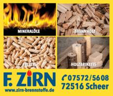 Anzeige Heizöl Zirn F. GmbH