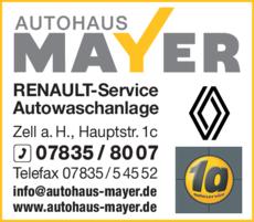 Anzeige Mayer GmbH