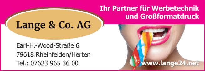 Anzeige Lange & Co. AG
