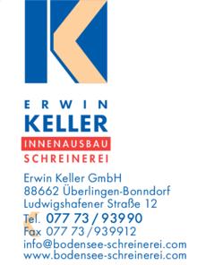 Anzeige Keller Erwin GmbH