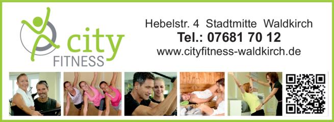 Anzeige City-Fitness