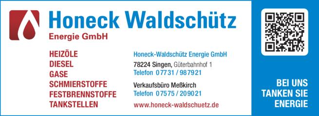 Anzeige Honeck-Waldschütz Energie GmbH