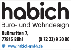 Anzeige Habich GmbH