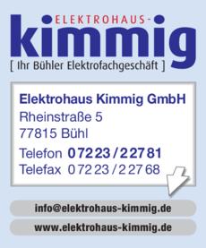 Anzeige Kimmig GmbH