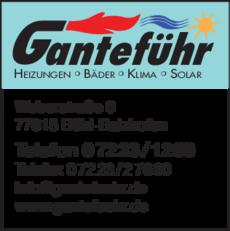 Anzeige Ganteführ