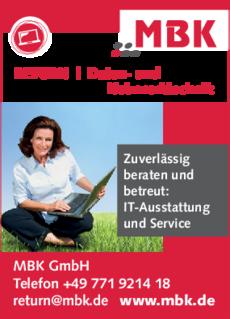 Anzeige IT MBK GmbH