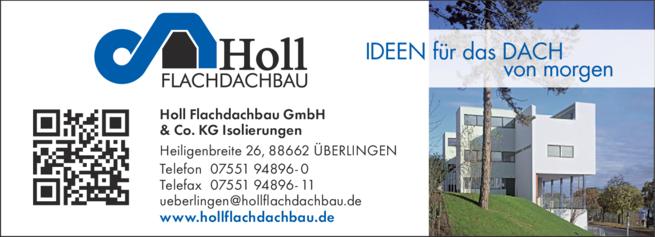 Anzeige Holl Flachdachbau GmbH & Co. KG