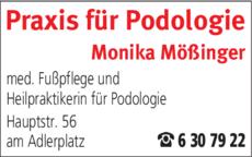 Anzeige Mößinger Podologie