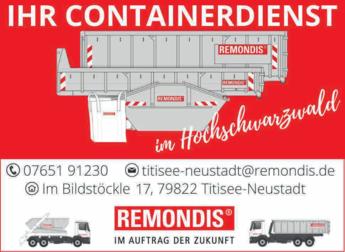 Anzeige Kerler Entsorgung und Containerdienst GmbH