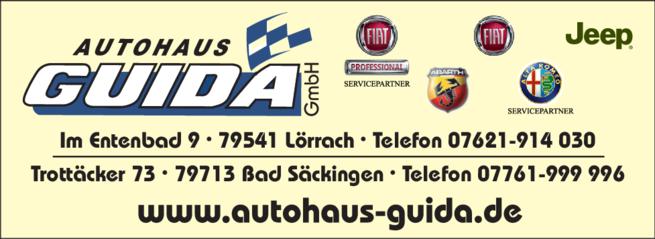Anzeige FIAT Autohaus Guida