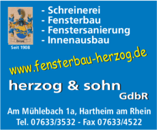 Anzeige Herzog & Sohn