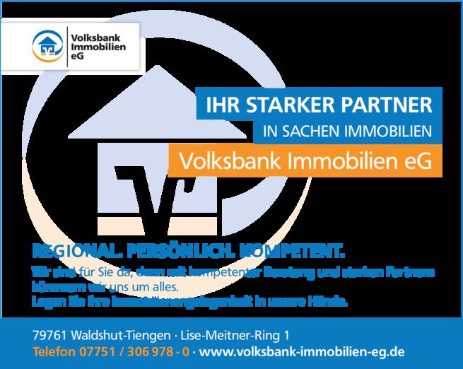 Anzeige Volksbank Immobilien eG