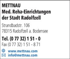 Anzeige Mettnau Radolfzell