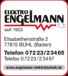 Anzeige Engelmann
