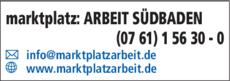 Anzeige marktplatz: ARBEIT SÜDBADEN