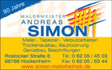 Anzeige Simon Andreas