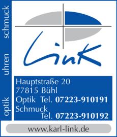 Anzeige Link Optik Uhren Schmuck e.K.