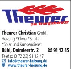 Anzeige Theurer Christian GmbH