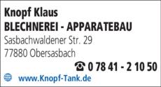 Anzeige Knopf Klaus