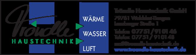 Anzeige Tröndle Lüftung-Klima