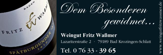 Anzeige Waßmer Fritz Weingut