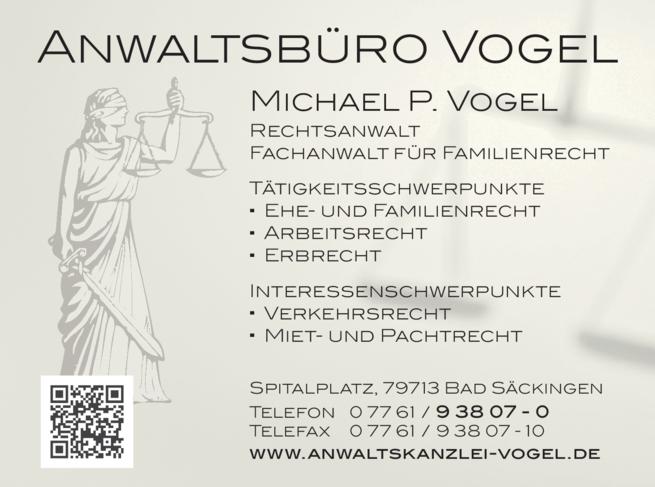 Anzeige Vogel Michael