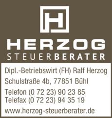 Anzeige Herzog Ralf Dipl.-Betriebswirt (FH)