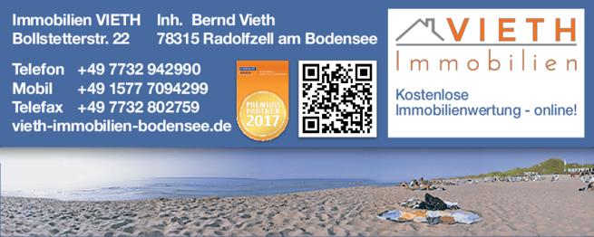 Anzeige Immobilien Vieth Bernd