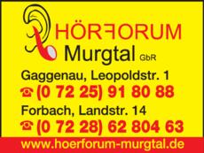 Anzeige Hörforum-Murgtal e.K.
