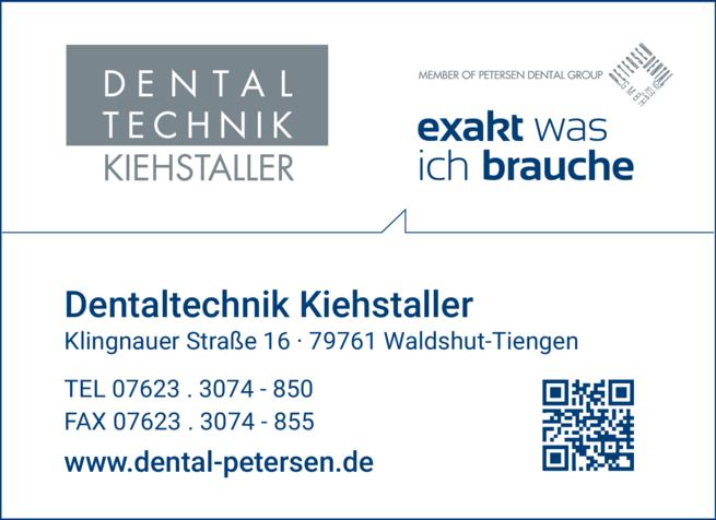 Anzeige Dental-Technik Kiehstaller GmbH