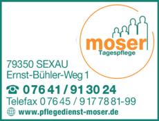 Anzeige Moser Ambulanter Pflegedienst
