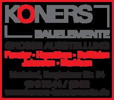 Anzeige Koners Bauelemente