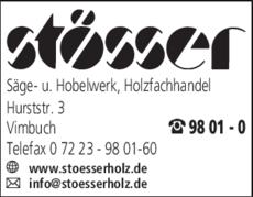 Anzeige Stösser Werner GmbH