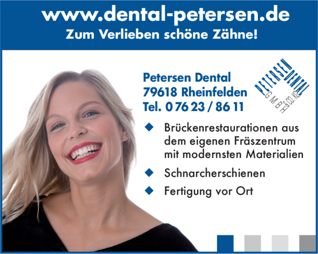 Anzeige Petersen Dental