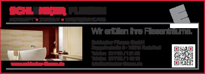 Anzeige Schlenker Fliesen GmbH