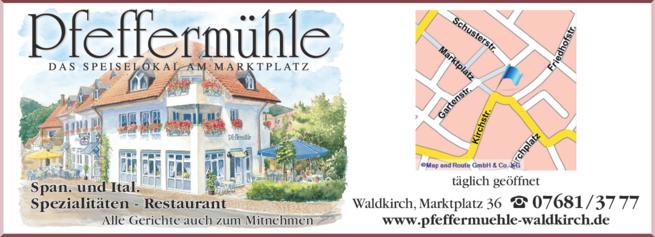 Anzeige Pfeffermühle