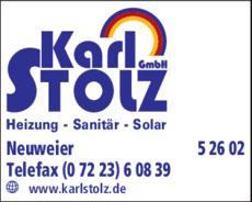 Anzeige Stolz Karl GmbH