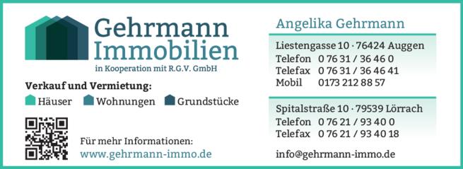 Anzeige Gehrmann Immobilien