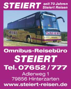 Anzeige Steiert Omnibus