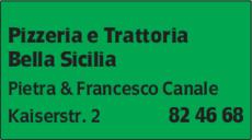 Anzeige Bella Sicilia Pizzeria e Trattoria