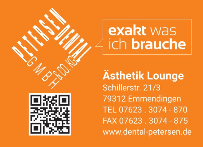 Anzeige Petersen Dental GmbH & Co. KG
