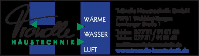 Anzeige Tröndle Klima-Lüftung